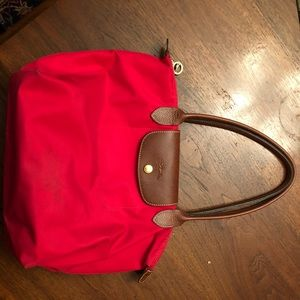 Small red longchamp